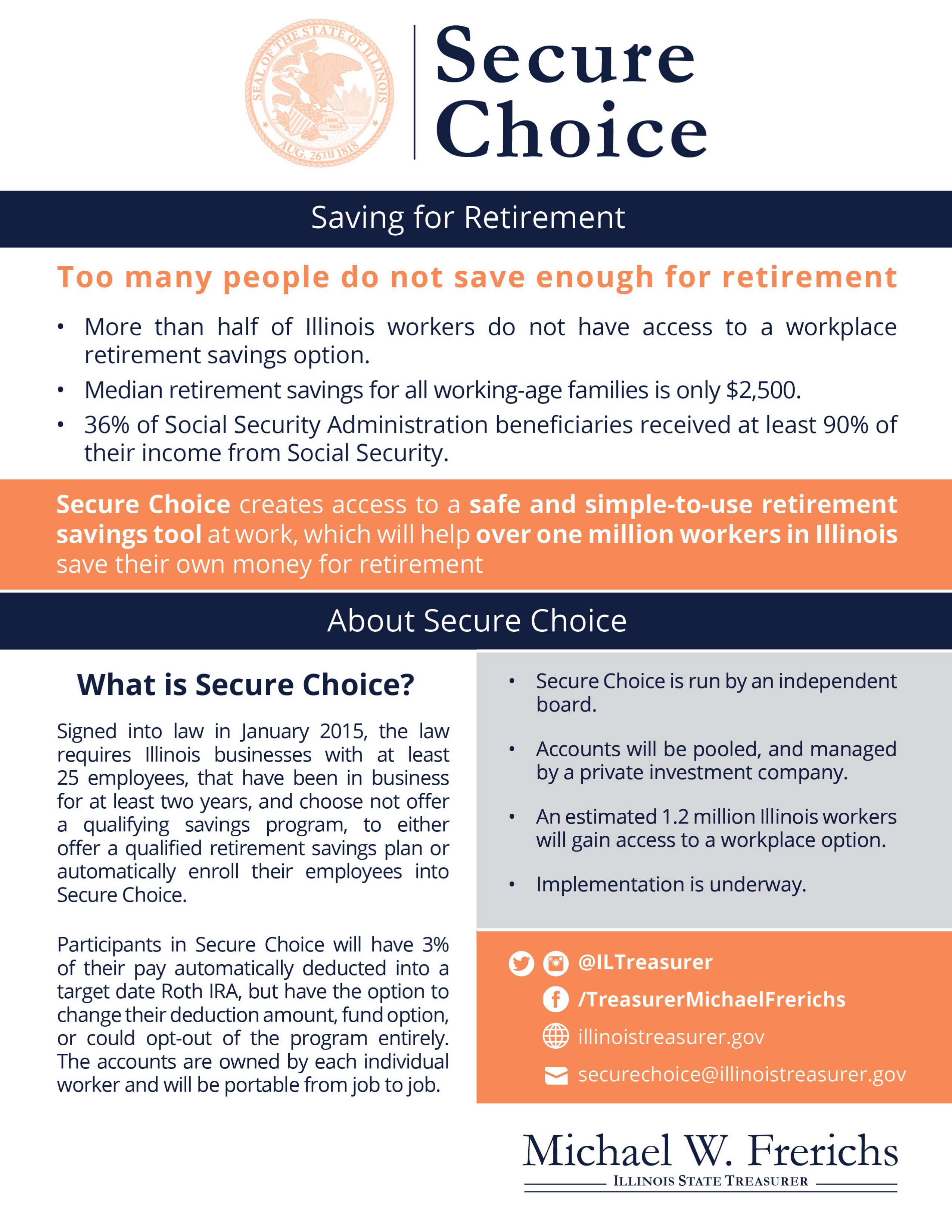 Secure Choice Flyer