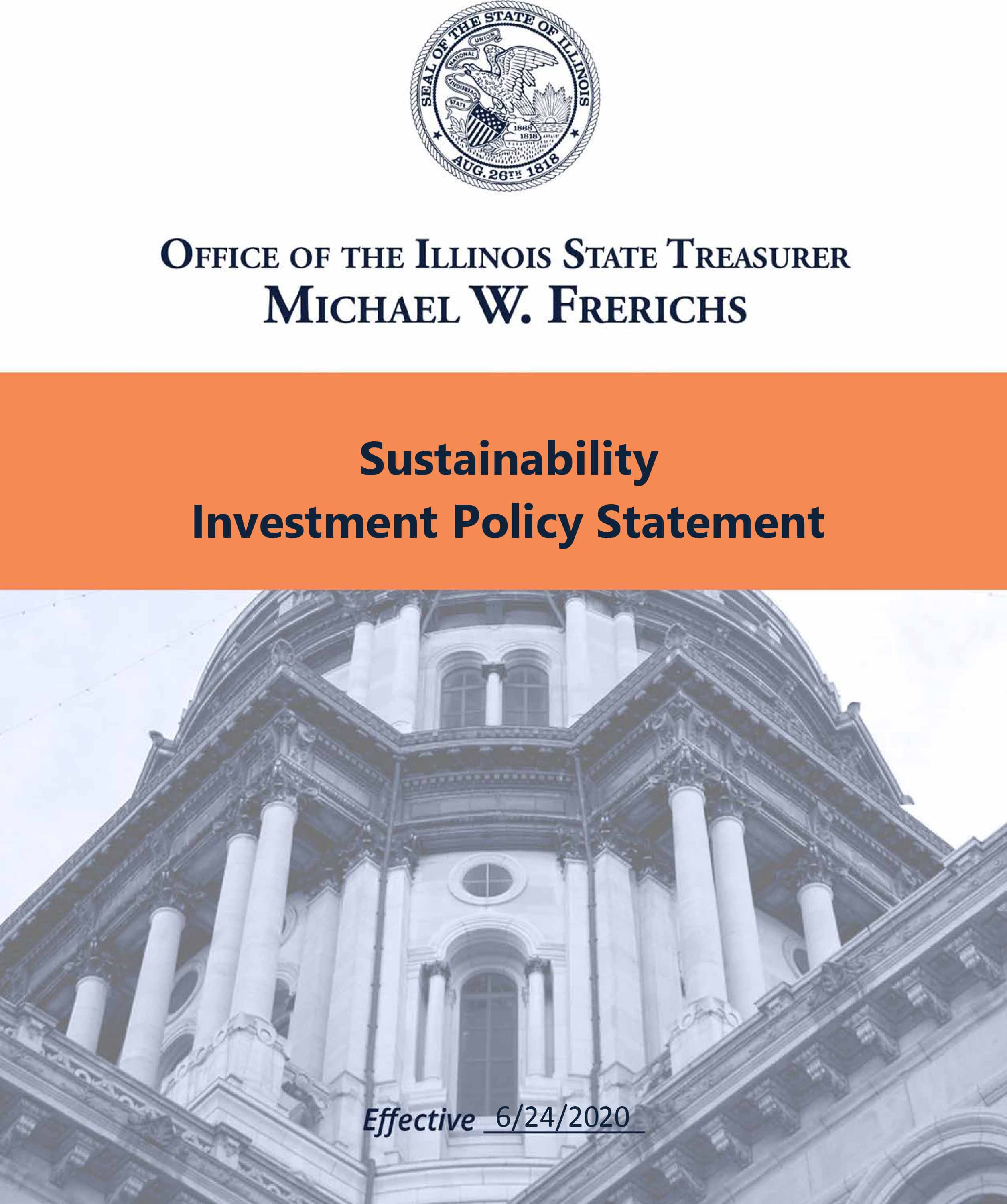 Sustainability Investment Policy Statement